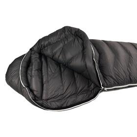 Grüezi-Bag Biopod Down Hybrid Ice Extreme 190 Sac de couchage Large, deep forest